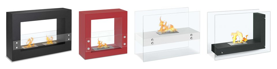 Freestanding Ethanol Fireplaces