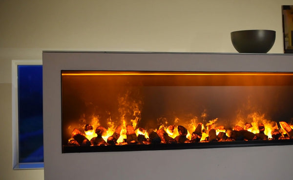 "Electric fireplaces are becoming more and more realistic. These water vapor fireplaces that sometimes are referred to as ""steam"" or ""mist"" fireplaces were introduced in 2017 and are the most realistic electric fireplaces available to date. Learn all about"