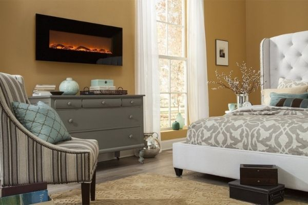 """Touchstone Onyx™ - 50"""" Wall Mounted Electric Fireplace"""