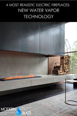 4 Most Realistic Electric Fireplaces: New Water Vapor Technology