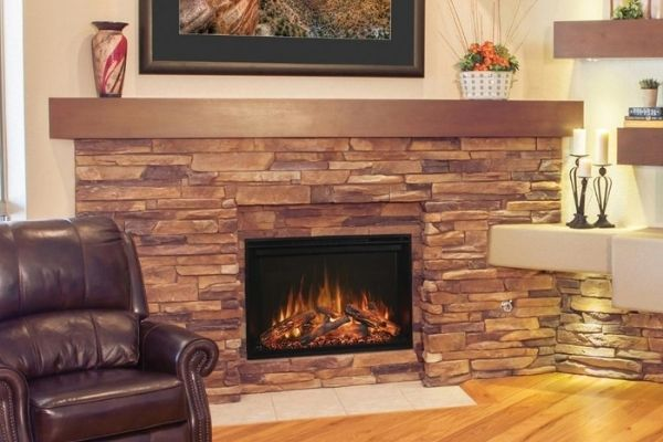 """Modern Flames Redstone 36"""" Built-in Electric Fireplace Insert (RS-3626)"""