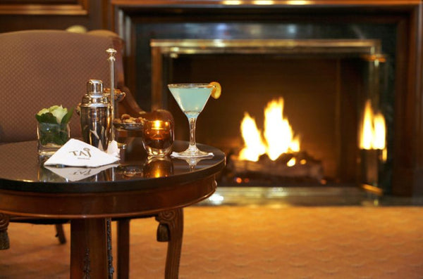 Cozy up to one of these Boston bars with fireplaces