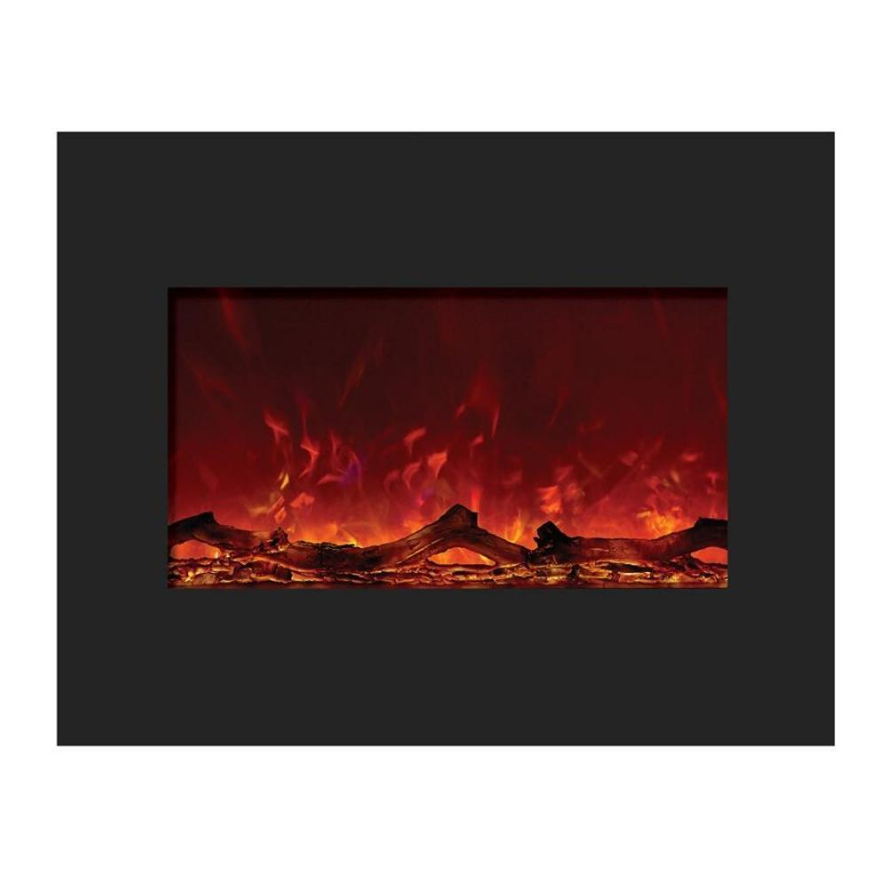 "Amantii 30"" Built-in Flush Zero Clearance Electric Fireplace (ZECL-30-3226-FLUSHMT)"