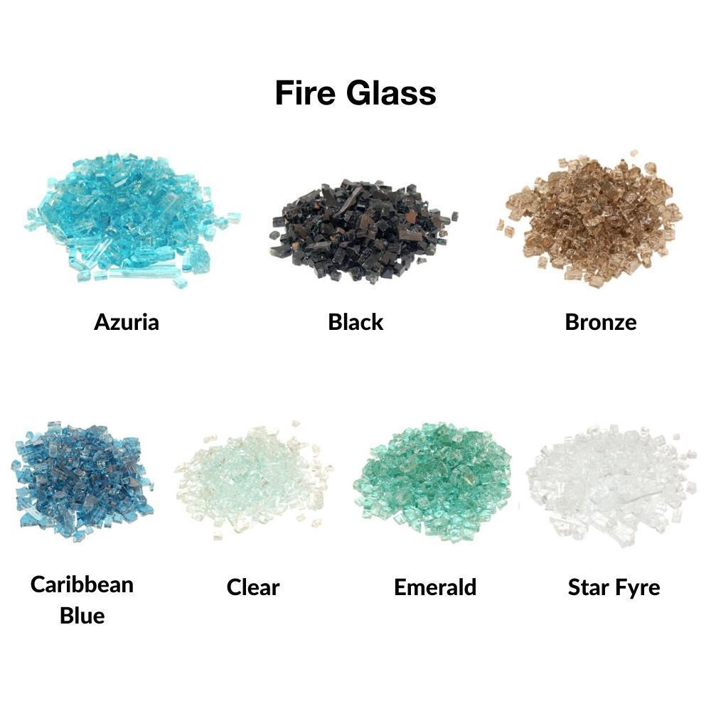 Real Fyre Fire Glass for Contemporary Gas Burners Insert
