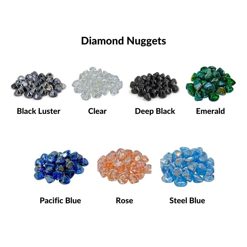 Real Fyre Diamond Nuggets for Gas Fireplaces