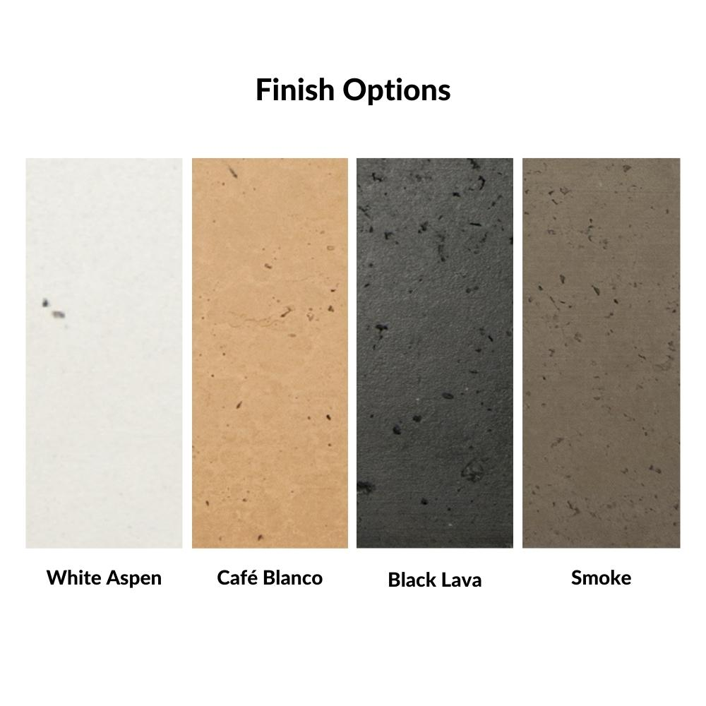 Finish Color Options