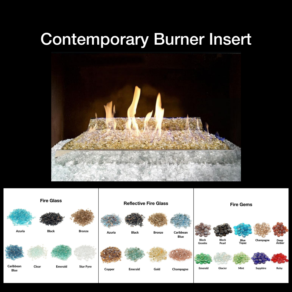 Fire Glass Burner