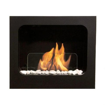Ethanol Fireplace - Bio-Blaze Colombus - Wall Mounted Indoor Ethanol Fireplace (BB-CO)