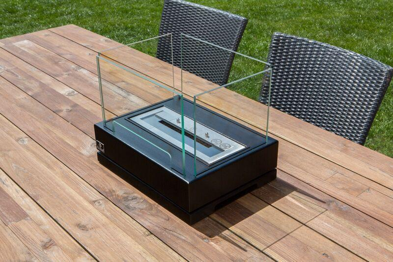 Ethanol Fireplace - Bio-Blaze Lisoba - Indoor/Outdoor Table Top Ethanol Fireplace (BB-LIS)