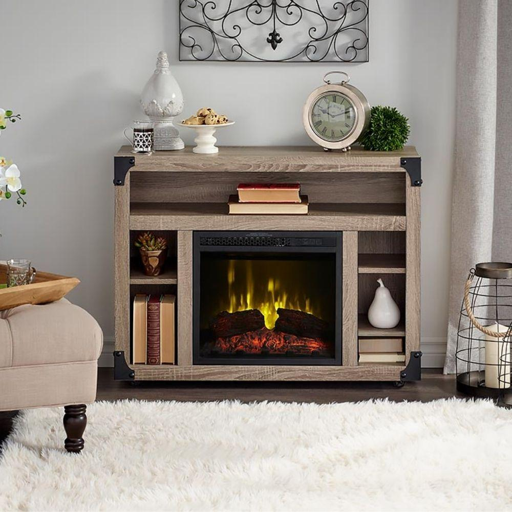 "Dimplex Chelsea Media Console with Electric Fireplace for 40"" TV (C3P18LJ-2086DO)"