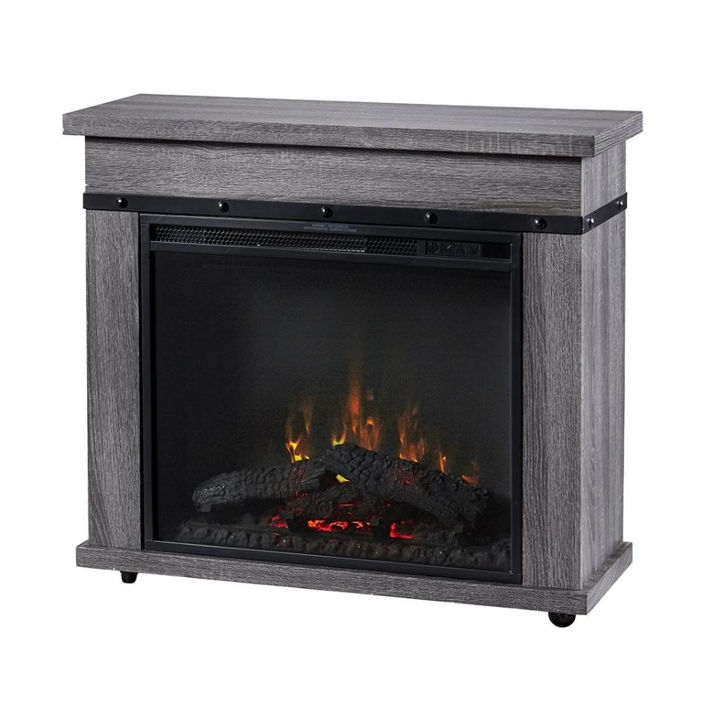 "Dimplex Morgan 32"" Electric Fireplace and Mantel Package (C3P23LJ-2085CO)"