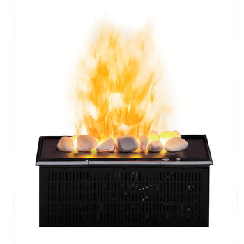 "Dimplex Opti-Myst 16"" Plug-in Vapor Cassette with Rocks and Heat Receptacle (DFI400RH)"