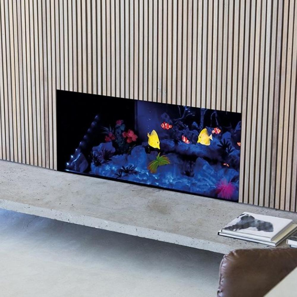 "Dimplex Opti-V™ 32"" Electric 3D Aquarium Wall Mounted"