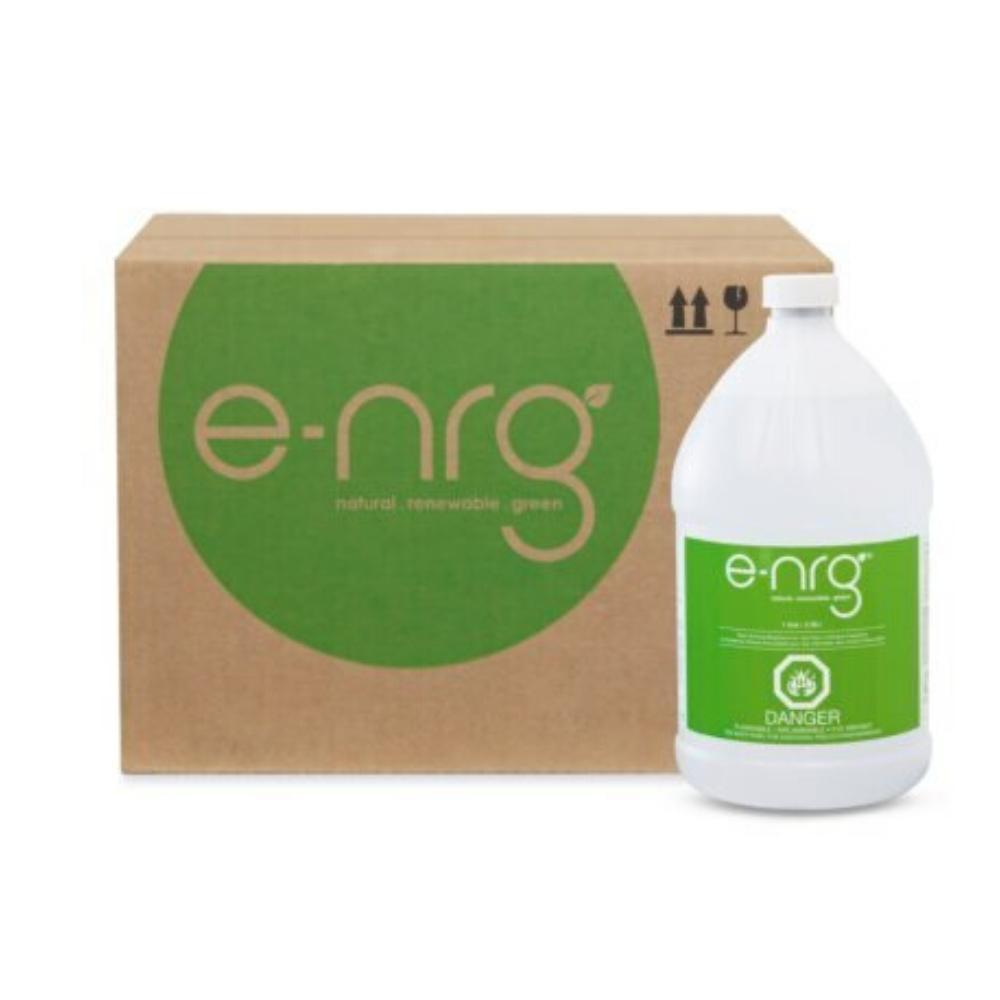 E-NRG Bioethanol Fuel for Ventless Fireplaces in Gallon Size Bottles