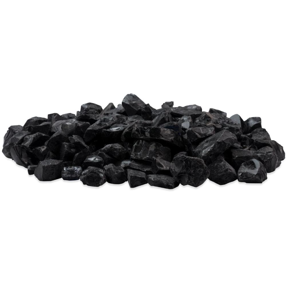 EcoSmart Fire Black Glass Charcoal for Ethanol Fireplace (ESF.1.A.CGM)