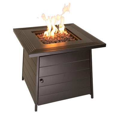 "Endless Summer Anderson 28"" Outdoor LP Fire Pit Table (GAD1446ES)"