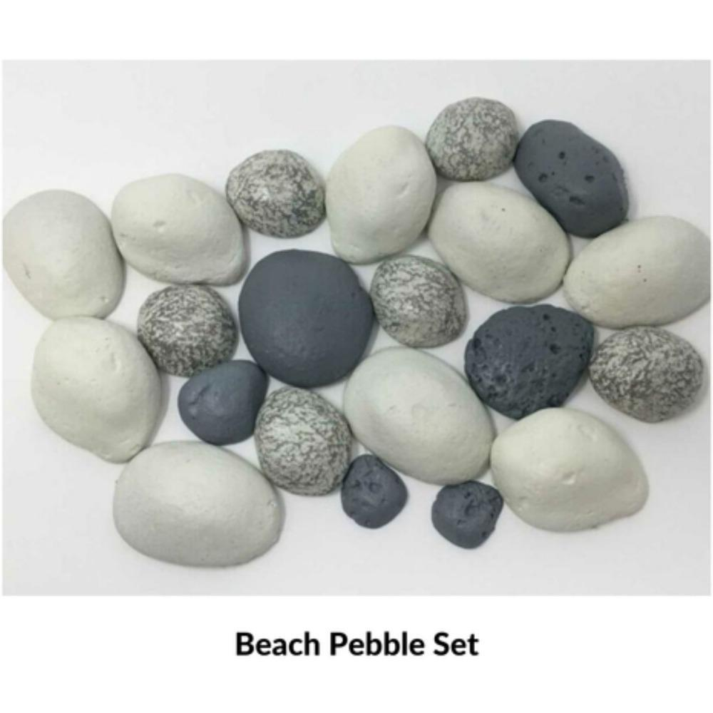 Optional Beach Pebble Set