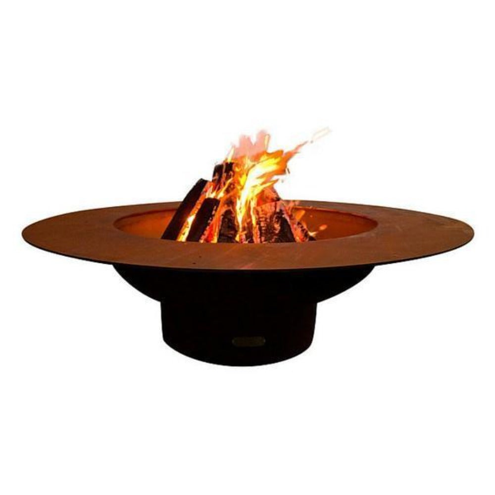 "Wood Burning Fire Pit - Fire Pit Art Magnum - 54"" Steel Fire Pit (MAG)"