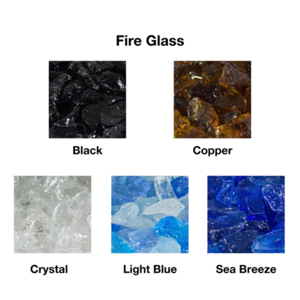 Firegear Fire Glass for Gas Fire Pits