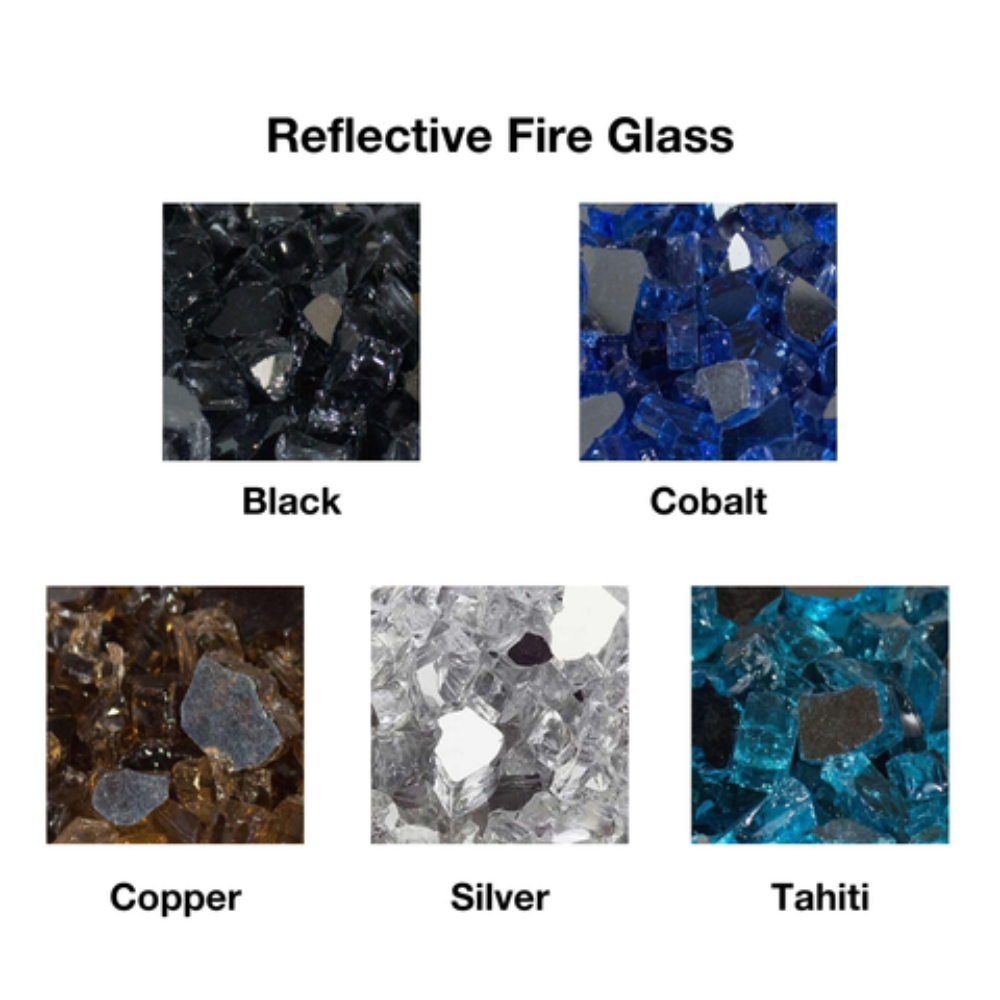 Firegear Reflective Fire Glass for Gas Fire Pits