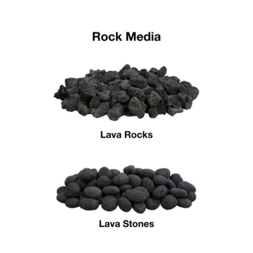 Firegear Rock Media for Gas Fire Pits