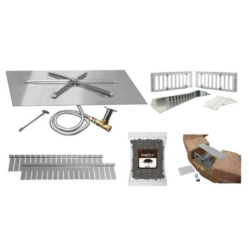 Firegear DIY Fire Pit Kit - Square