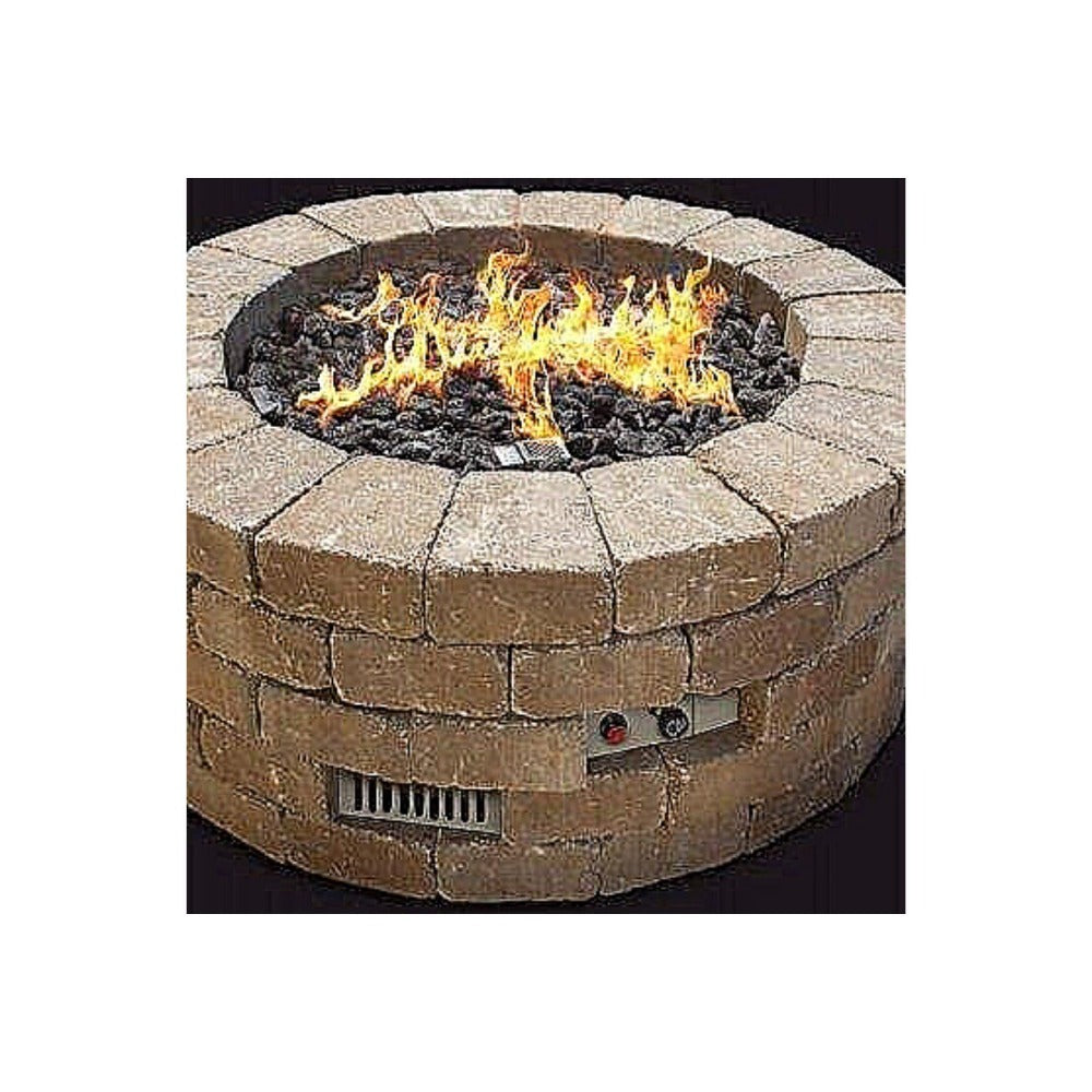 Firegear Stainless Steel Paver Vent Kit for Fire Pits