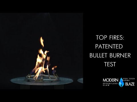 Top Fires: Patented Bullet Burner Test