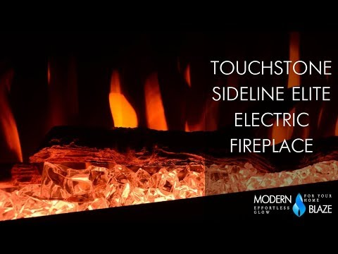 "Touchstone Sideline Elite - 50"" Recessed Electric Fireplace (#80036)"