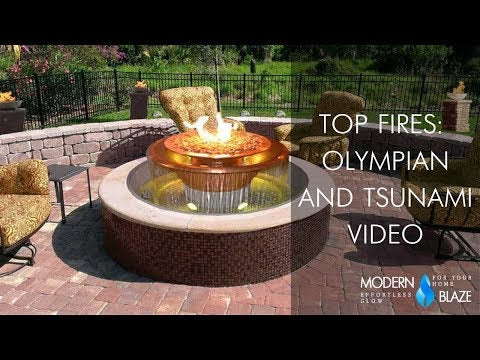 Top Fires Olympian and Tsunami Video