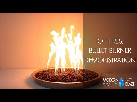 Bullet Burner Demonstration