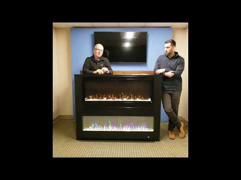 Touchstone Sideline Elite and Fury Electric Fireplace Showcase