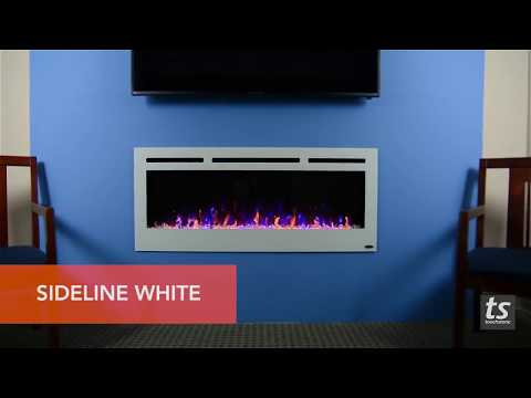"Touchstone Sideline 50"" Electric Fireplace Frame Options"