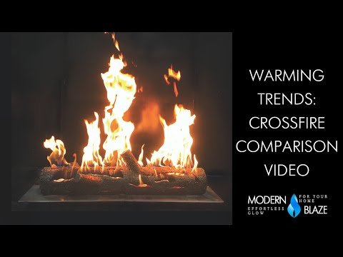 Warming Trends Crossfire Burner Comparison Video