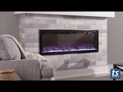 Meet the Elite: Touchstone Sideline Elite Electric Fireplace Collection