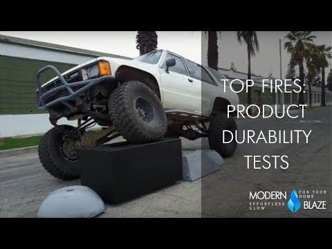 Top Fires Product Durability Tests