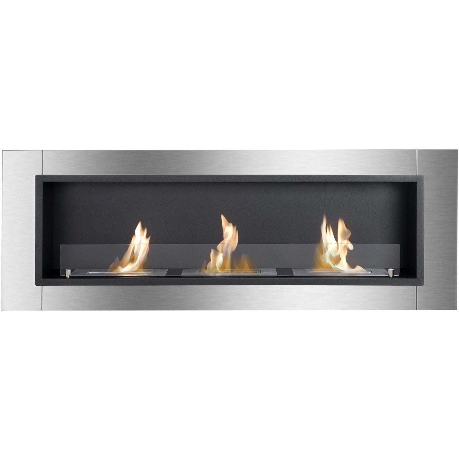 "Ethanol Fireplace - Ignis Ardella - 55"" Built-in/Wall Mounted Ethanol Fireplace (WMF-0222)"