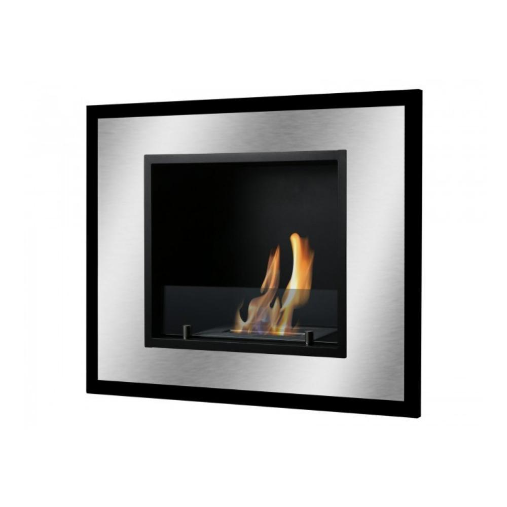 "Ethanol Fireplace - Ignis Belezza Mini - 32"" Built-in/Wall Mounted Ethanol Fireplace (WMF-034)"