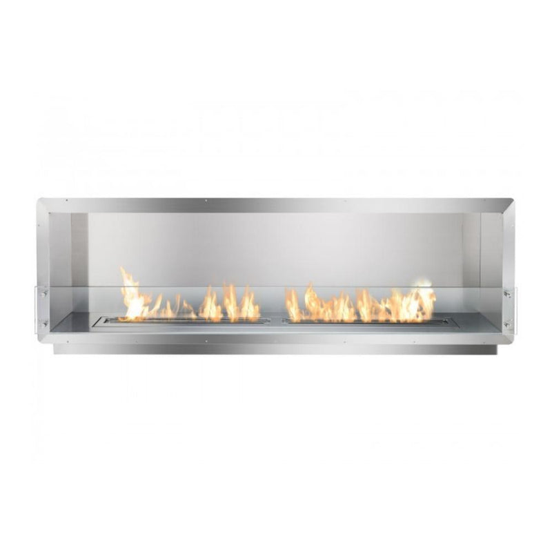"Ethanol Firebox - Ignis Ethanol Firebox - 78"" Built-in Single Sided Ventless Fireplace (FB6200-S)"