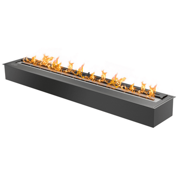 "Ignis Fireplace Insert - 48"" Black Ethanol Burner (EB4800 Black)"
