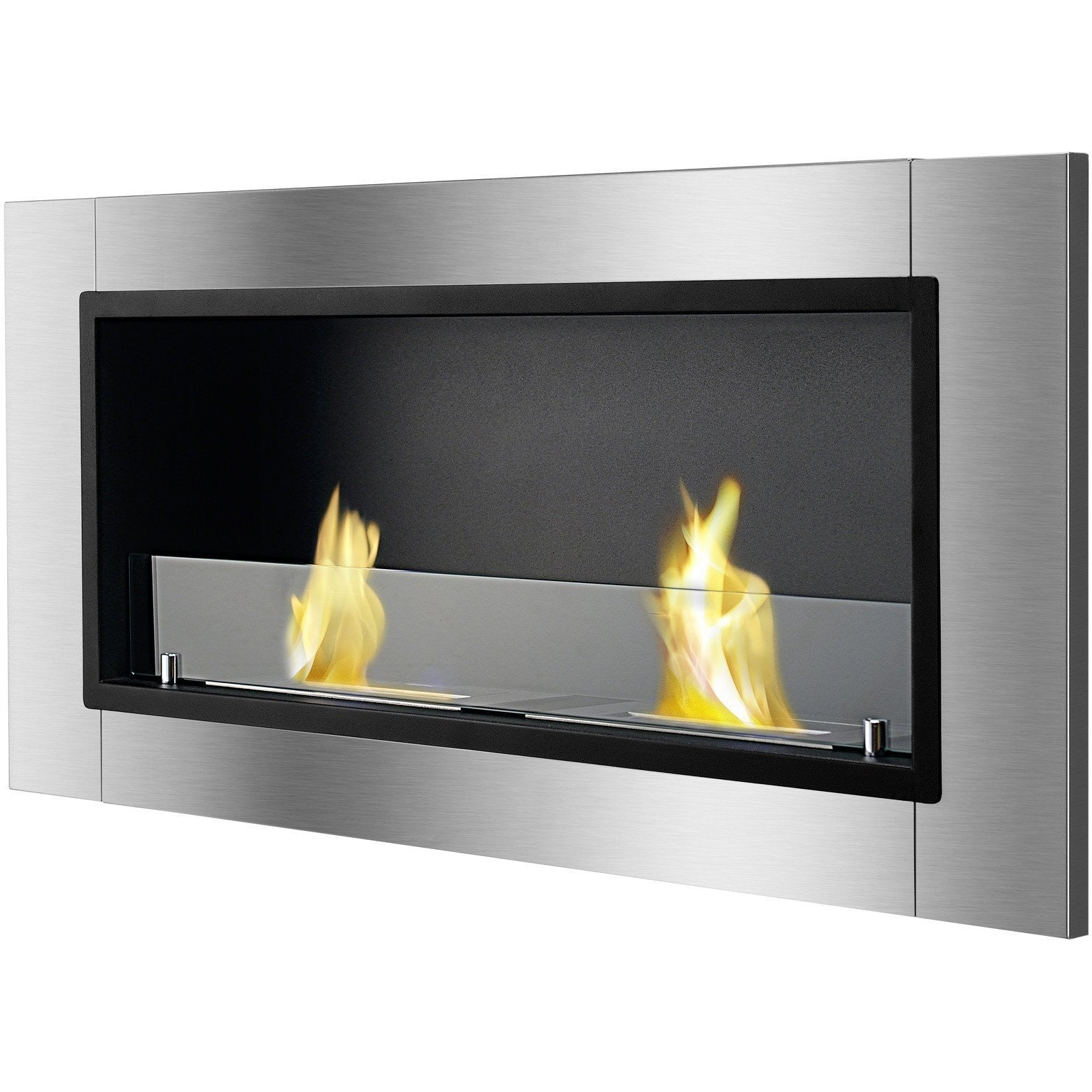 Ethanol Fireplace - Ignis Lata - Built-in/Wall Mounted Ethanol Fireplace (WMF-022)