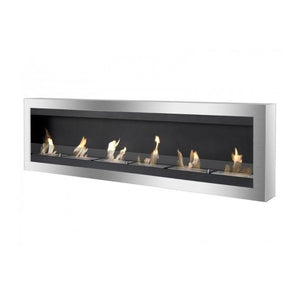 "Ignis Maximum - 83"" Wall Mounted Ethanol Fireplace (WMF-012G)"