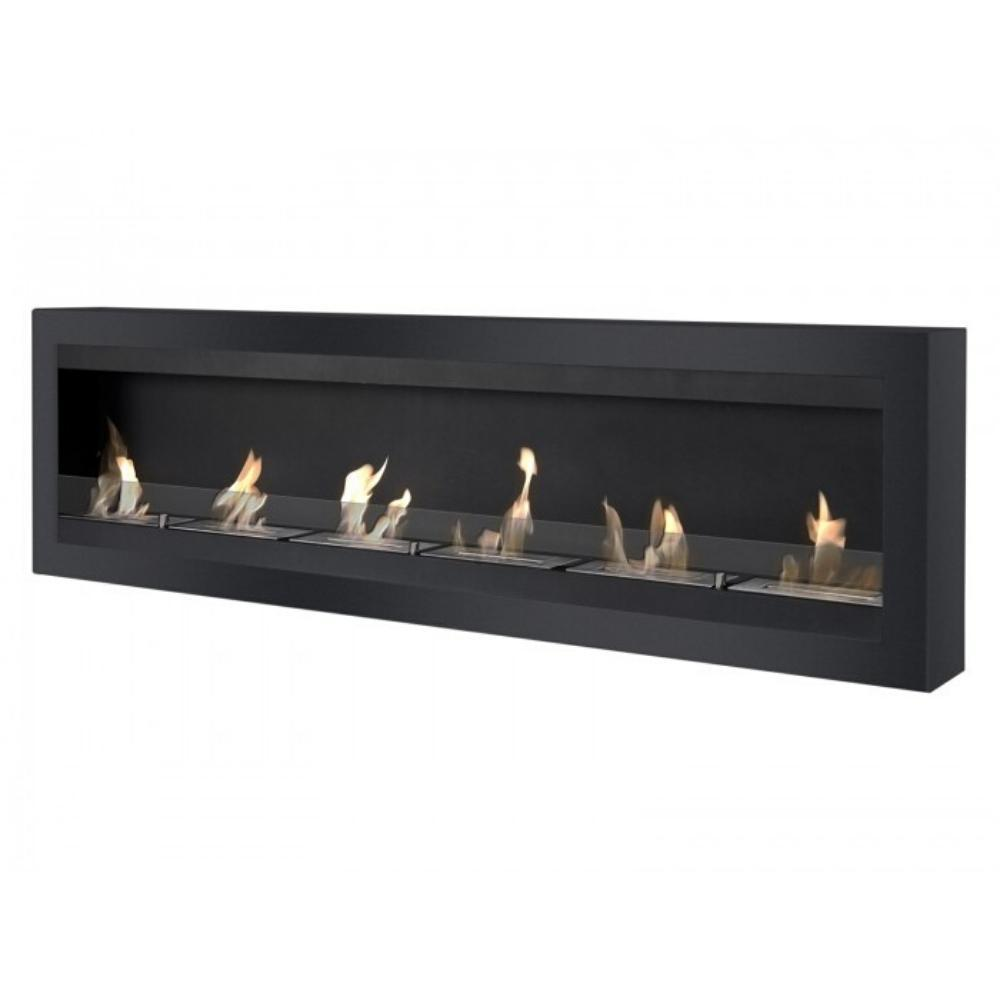 "Ignis Maximum - 83"" Wall Mounted Ethanol Fireplace"