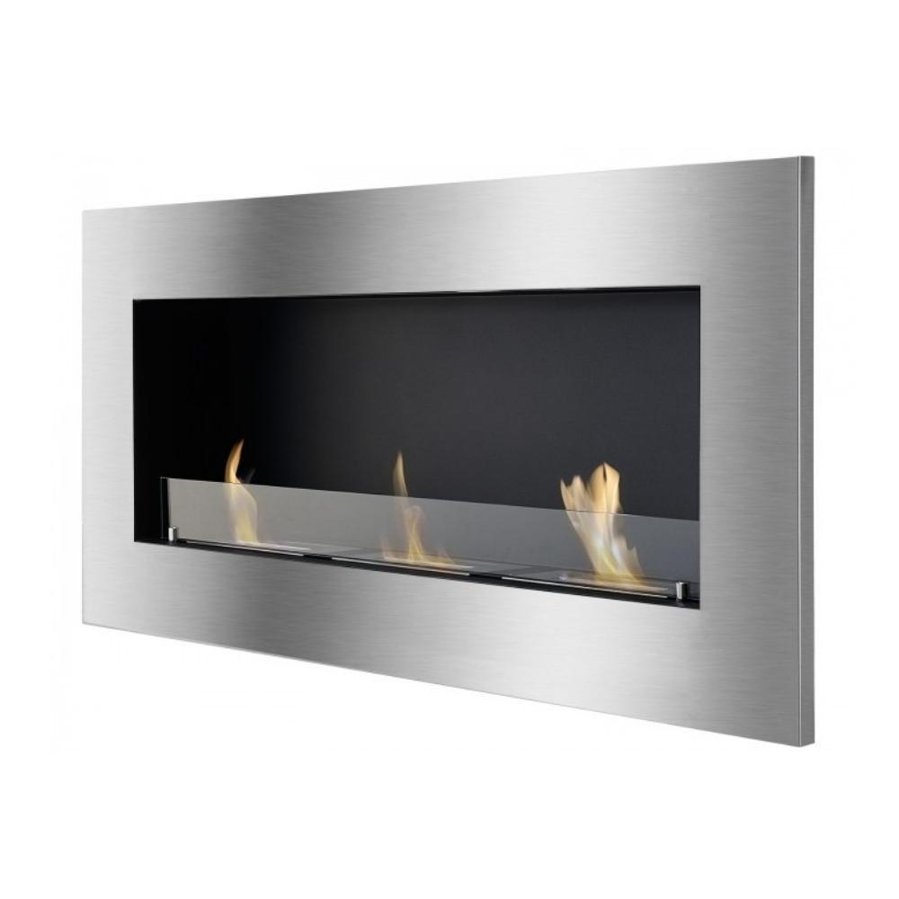 "Ignis Optimum - 59"" Built-in/Wall Mounted Ethanol Fireplace (WMF-013G)"