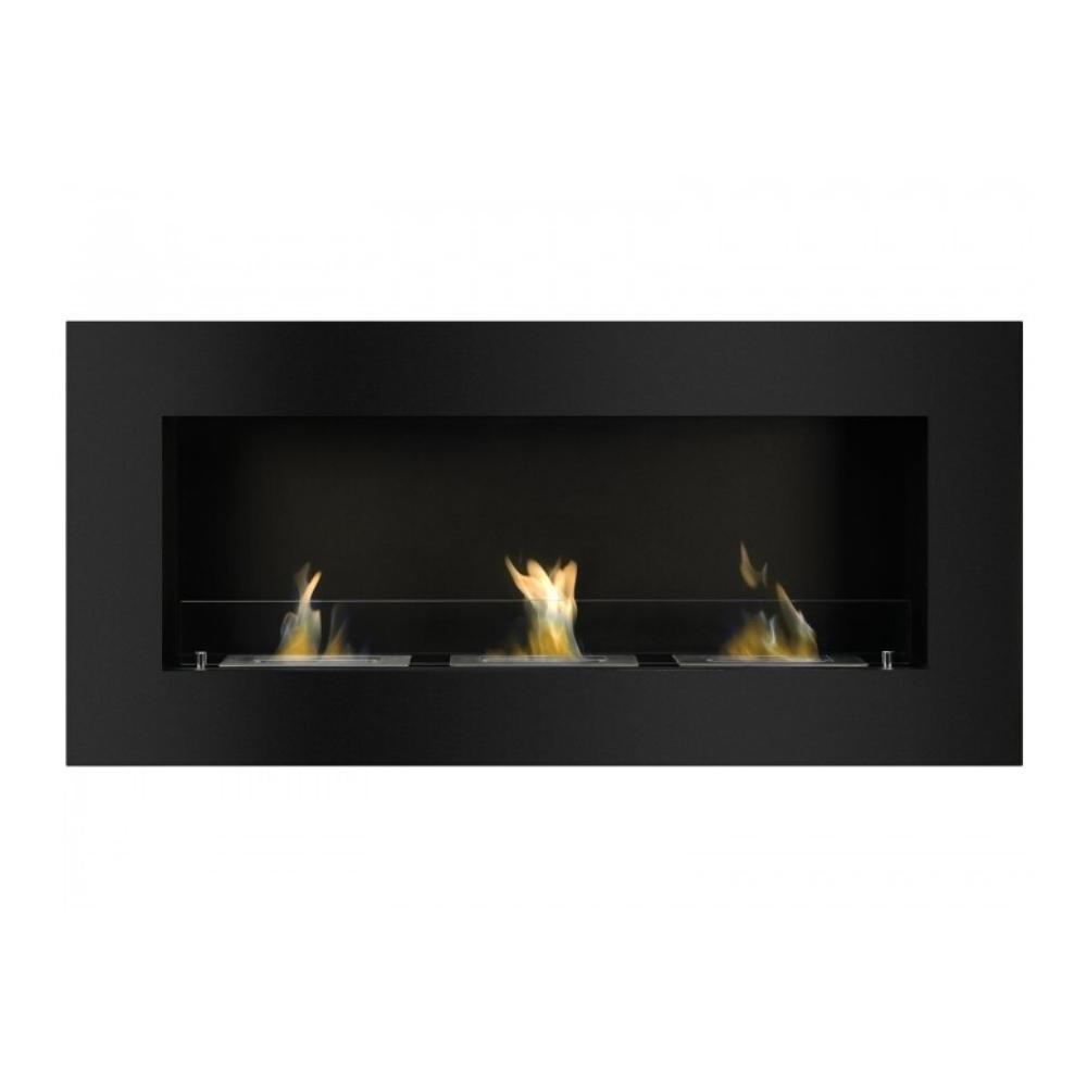 "Ignis Optimum - 59"" Built-in/Wall Mounted Ethanol Fireplace"
