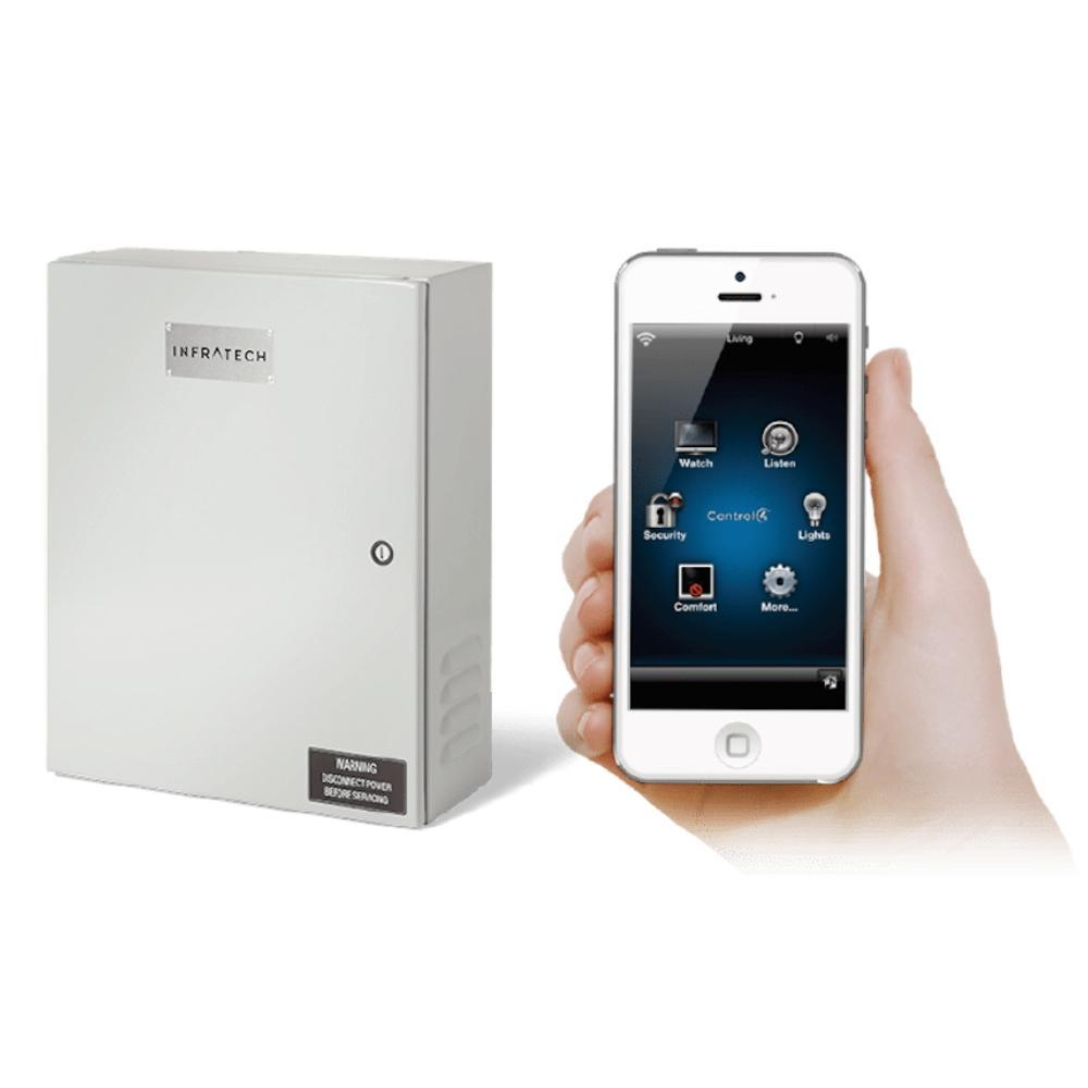 Infratech Home Management Systems Control Using Mobile Device