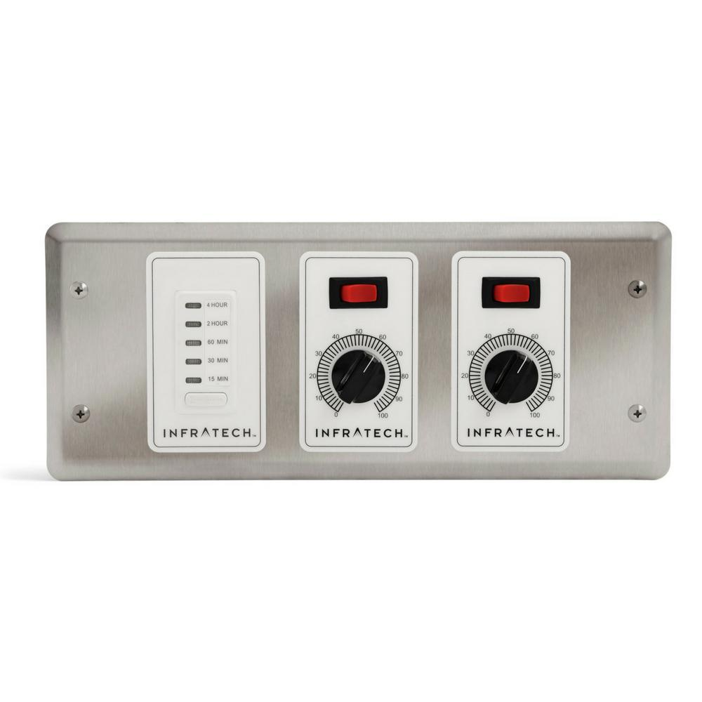 Infratech Solid State Controls – 2 Zone Analog Controller with Digital Timer