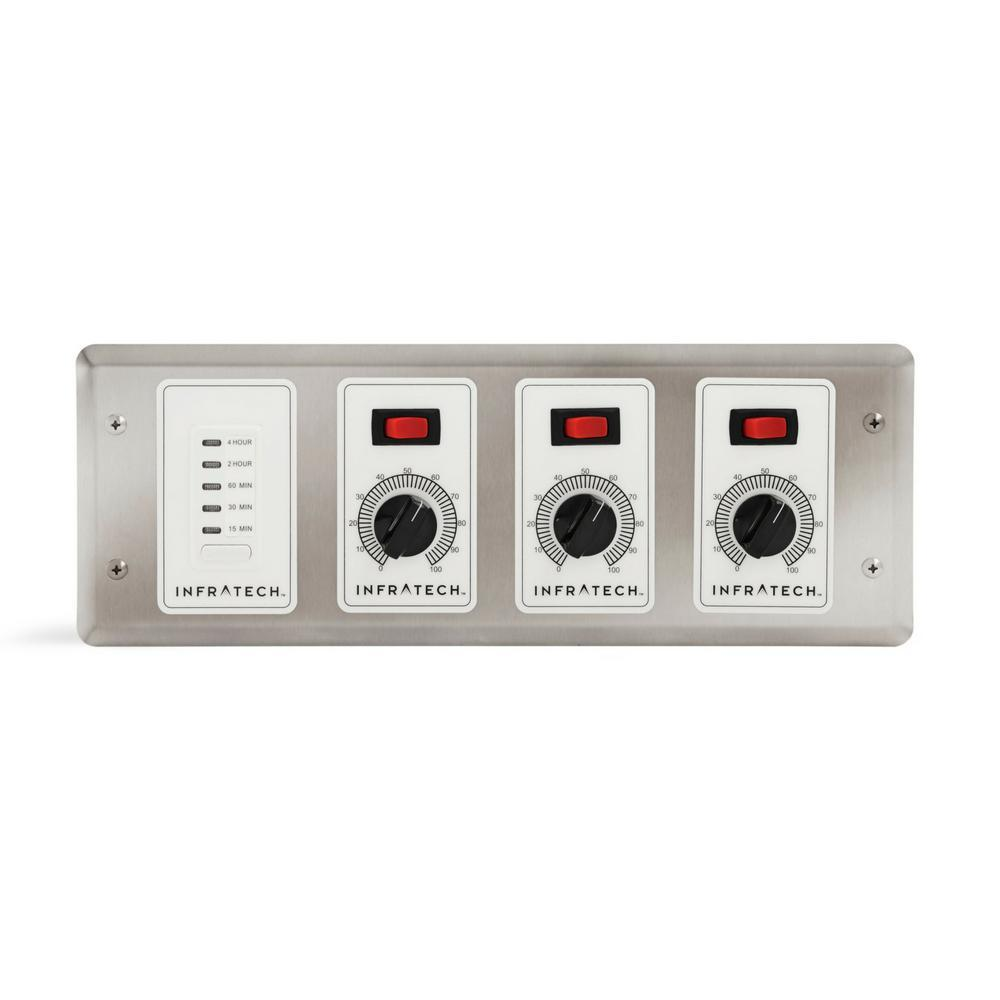 Infratech Solid State Controls – 3 Zone Analog Controller with Digital Timer
