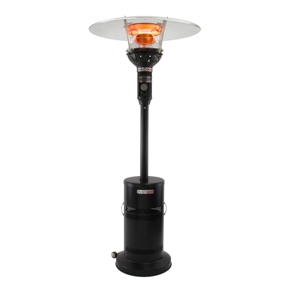 IR Energy evenGLO GA201M2 Black Portable Propane Heater with Wheels