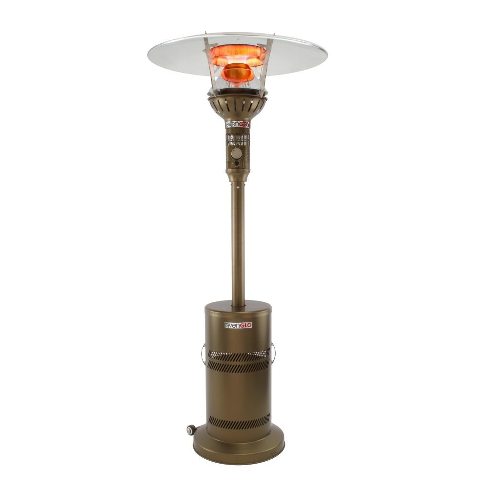 IR Energy evenGLO GA201M2 Bronze Portable Propane Heater with Wheels